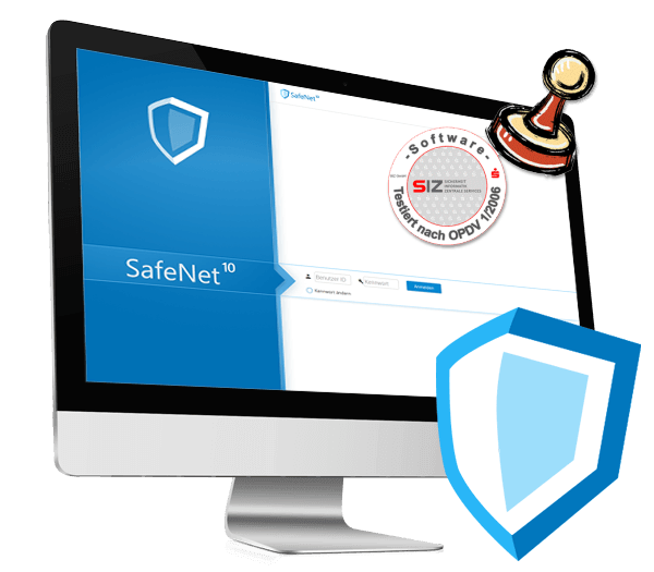 SafeNet SDL system software by OPDV certified